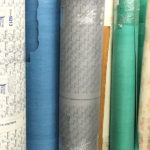 We store rolls of material for custom gaskets at our Salt Lake City, Utah facility